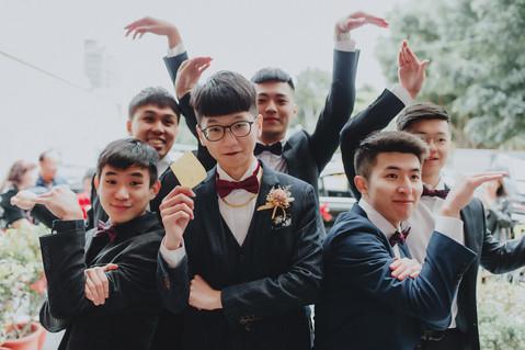 楓凌小徑 婚禮紀錄 婚攝 迎娶 闖關