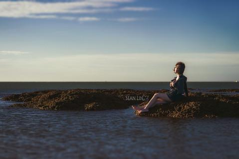 楓凌小徑/人像造型/海洋