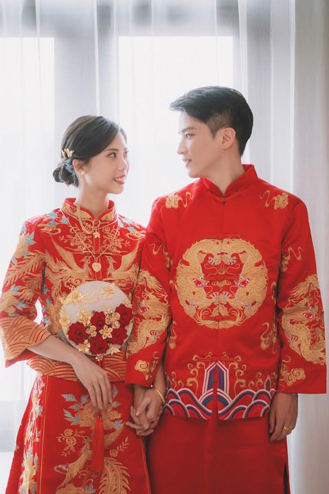 楓凌小徑|婚禮紀錄|婚攝|文定|秀禾服|龍鳳裝