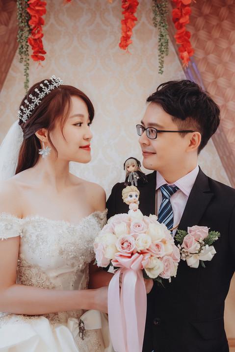 楓凌小徑|婚禮紀錄|婚攝|黏土人