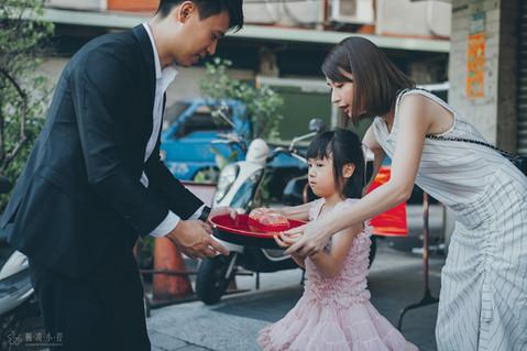 楓凌小徑|婚禮紀錄|婚攝|小花童