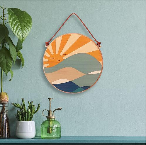 Sunshine Wave Wall Art