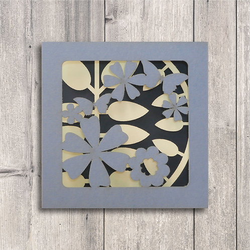 Concertina Cards: Graphic Flowers