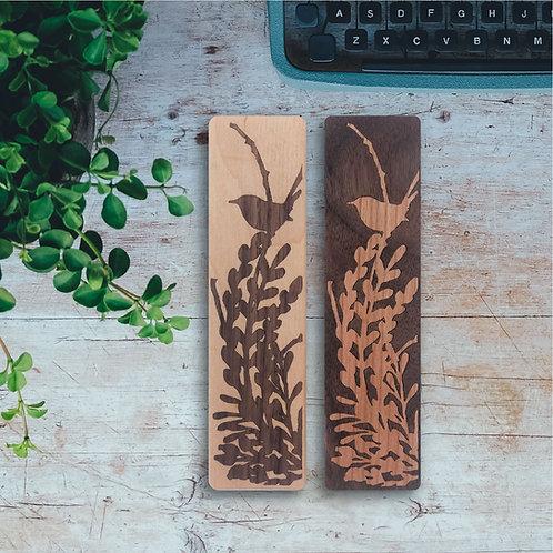 Bird Wooden Bookmark