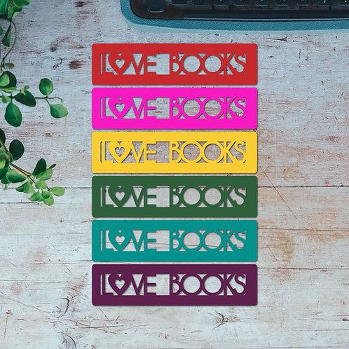 Love Books Bookmark