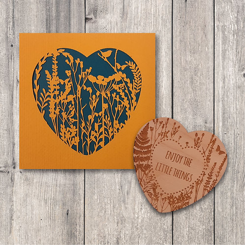 Enjoy the Little Things Fridge Magnet Gift Set