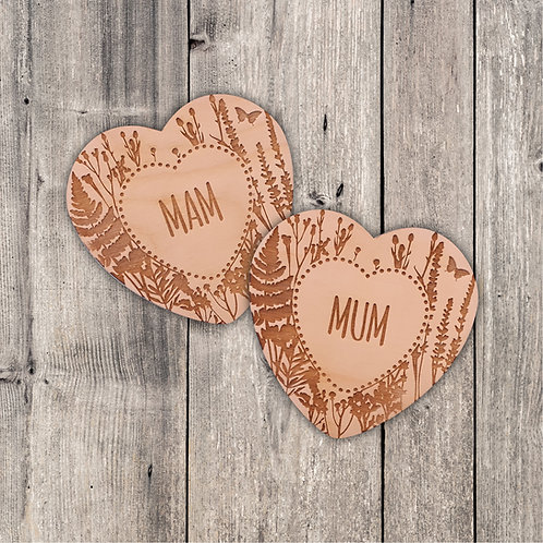 Mum/Mam Fridge Magnet