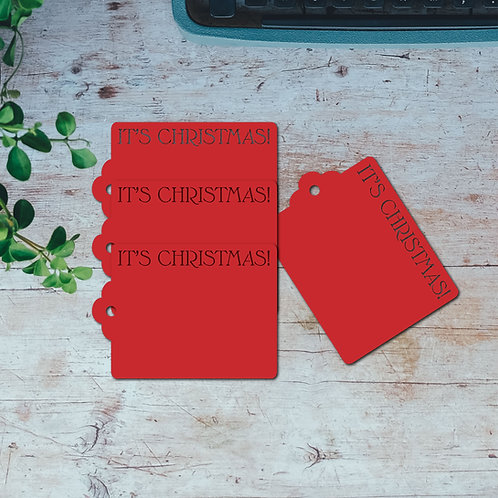 It's Christmas Gift Tags