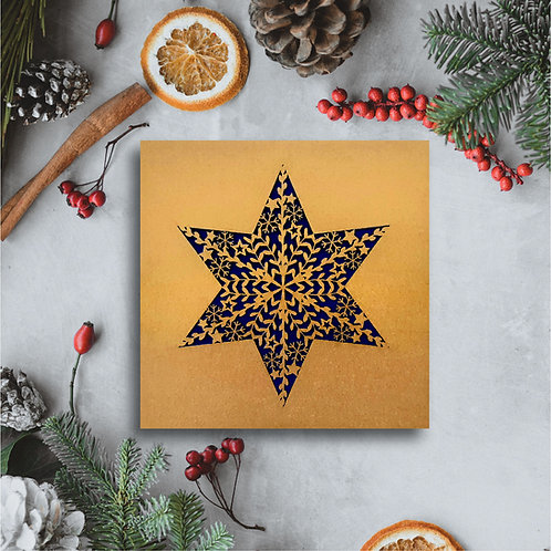 Botanical Christmas Star