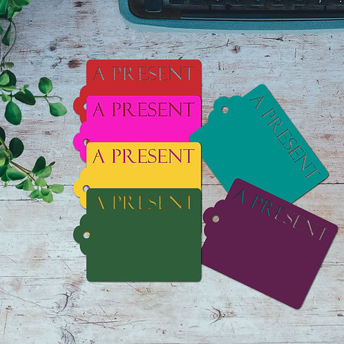 A Present Gift Tags