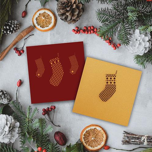 Set of 2 Christmas Stocking