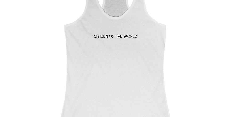 Women's Citizen of the World Racerback Tank