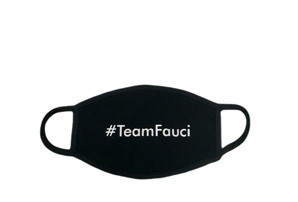 #TeamFauci Mask
