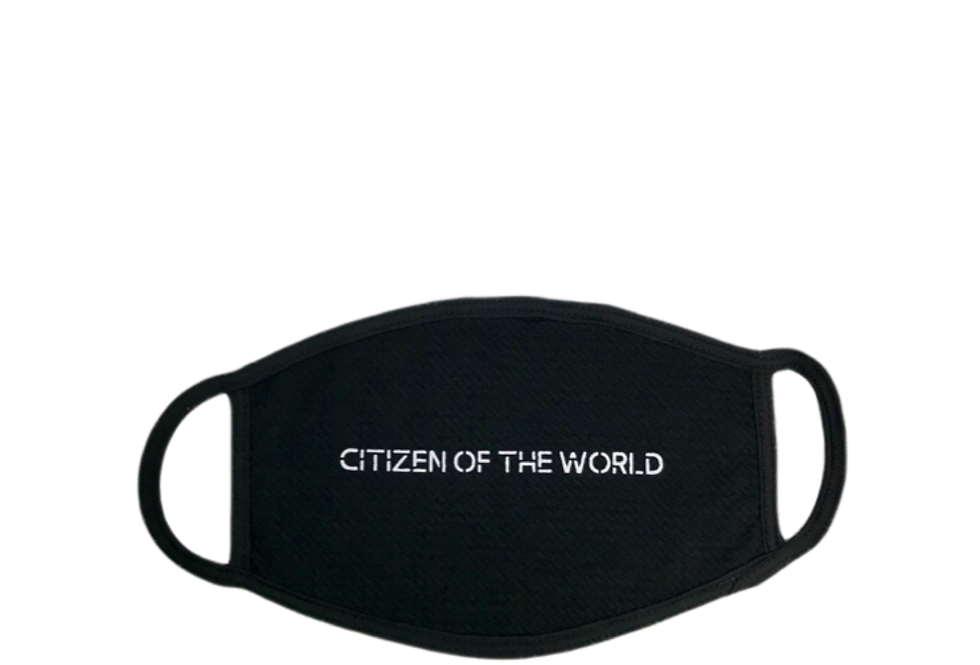 Citizen Of The World Mask