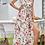 Thumbnail: Apricot Floral Dress