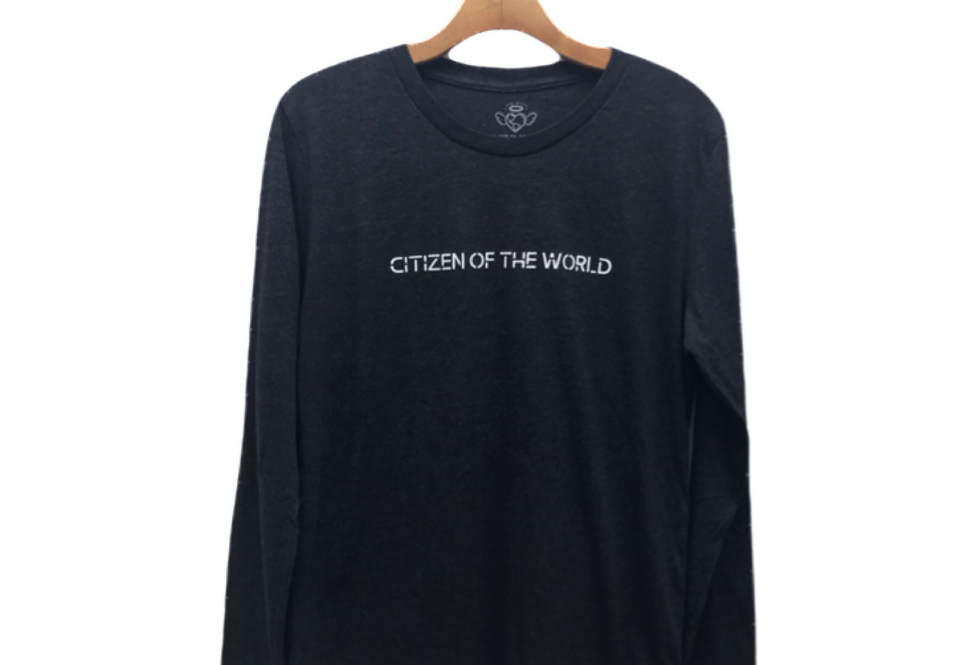 CIitizen Of The World Long Sleeve Tee