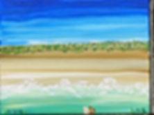 Painting Fire Island Dunes