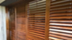 Shutters stained by Bob Painting