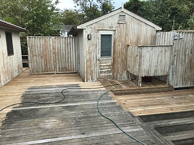 House power washed by Bob