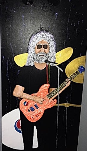Painting of Jerry Garcia