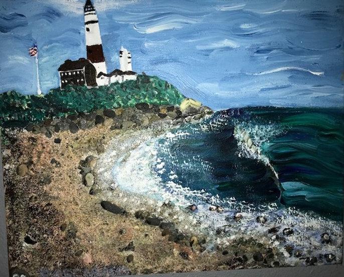 Painting Montauk Lighthouse