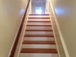 Stairs painted by Bob Painting