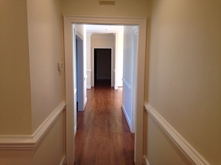 Hallway painted by Bob Painting
