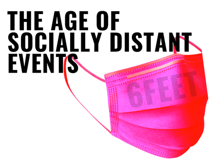 The Age of Socially Distant Events