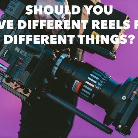 Should You Have Different Reels for Different Things