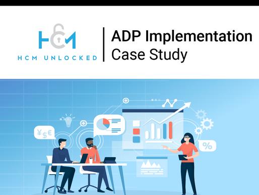 ADP Implementation Case Study