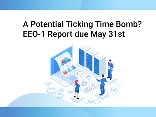 A Potential Ticking Time Bomb? EEO-1 Report due May 31st