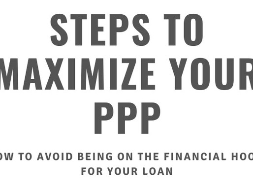 Steps to maximize your PPP