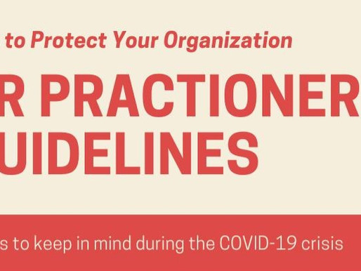 How to Protect Your Organization | HR Practioner Guidelines