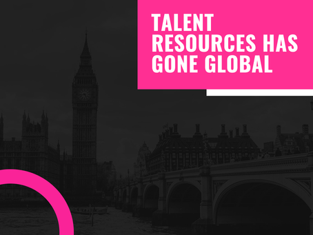 Talent Resources Has Gone Global