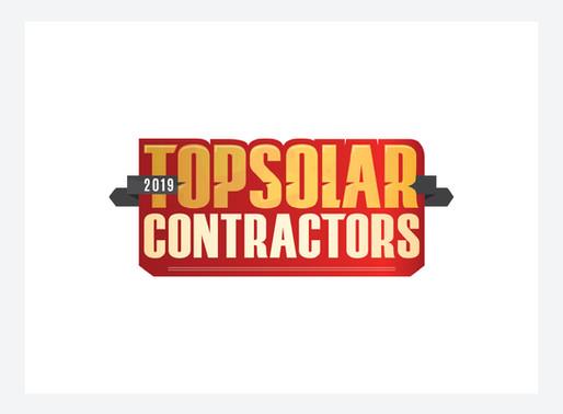 C2 Energy Capital Earns High Ranking on 2019 Top Solar Contractors List