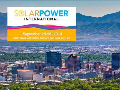 C2 Energy Capital Attending Solar Power International 2019