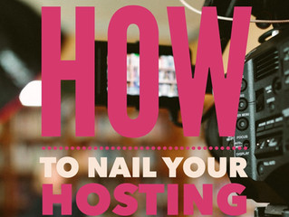 How to Nail Your Hosting Audition!