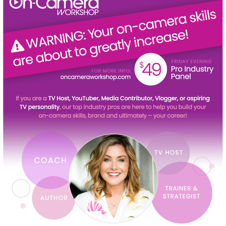 Warning: Your on-camera skills are about to greatly increase!