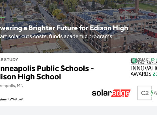 Powering a Brighter Future for Edison High  |   Smart solar cuts costs, funds academic programs