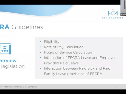 FFCRA Guidelines: Who is entitled to these types of leave?