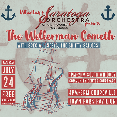 """""""The Wellerman Cometh"""" with the Shifty Sailors - COUPEVILLE 4pm"""