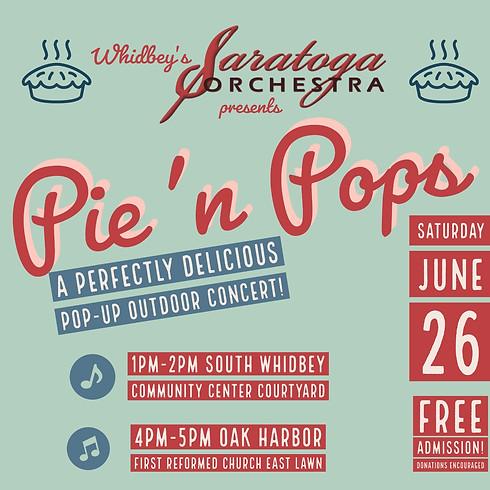 PIE 'n POPS Pop-Up Concert - LANGLEY 1pm