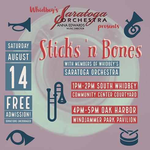 Sticks 'n Bones Bonanza - LANGLEY 1pm