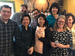 Social Time at Whidbey Island Distillery