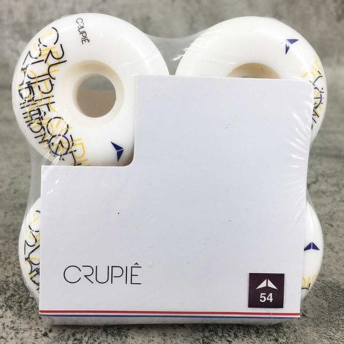 Crupie Hill Wide Shape 54mm Skateboard Wheels