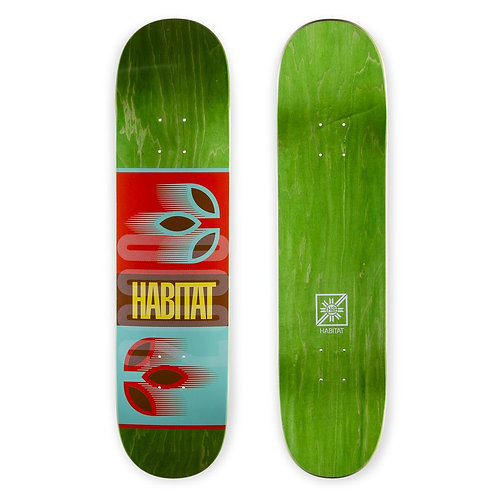 Habitat Skateboards Apex 2000 Skateboard Deck 8.00""