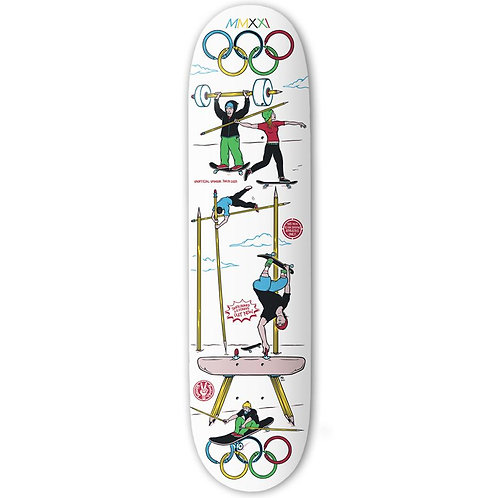 """The Drawings Boards - No-lympics Deck 8.125"""""""