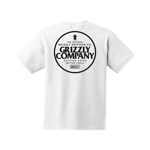 Grizzly Grip Better T-Shirt - White