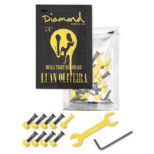 "Diamond Supply Co. Luan Oliveira 7/8"" Skateboard Bolts"