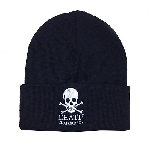 Death Skateboards OG Logo Beanie - Black